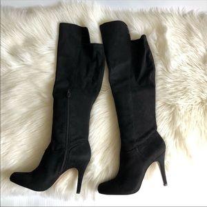 INC knee high dress boots